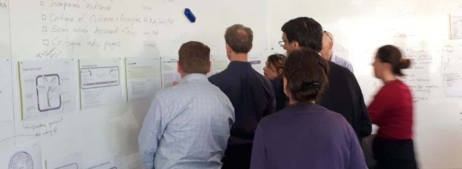 Co-design workshop with a wide range of stakeholders