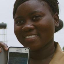 ThinkPlace helped design the 'on the go' app in Ghana